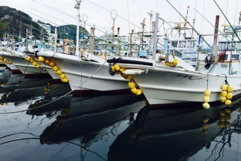 Kapal nelayan Toshijima