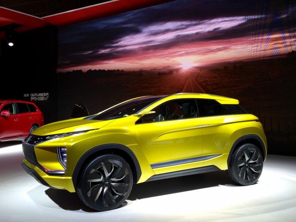 Концепт-кар Mitsubishi eX Concept