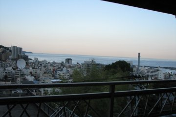 <p>The ocean view from our terrace.</p>