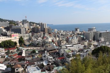 <p>Atami from the rooftop.</p>
