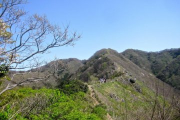 The big steep rocky slope