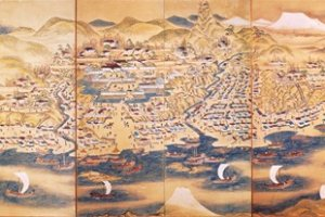 An old map shows how Matsumae once looked