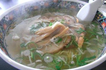 <p>A bowl of shio ramen from Ajisai</p>
