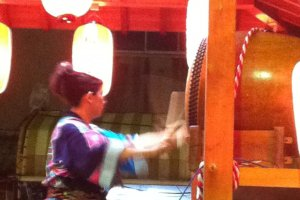 And the beat goes on...dance to the relentless beat of taiko drumming