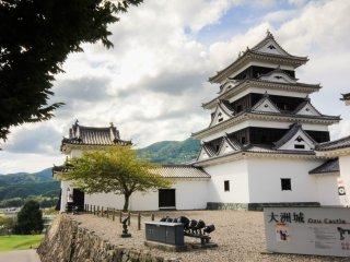Le château d'Ōzu
