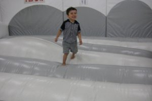 Bouncing time!