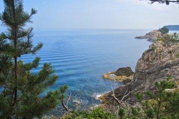 Looking east near the Tajiri Fishing Port