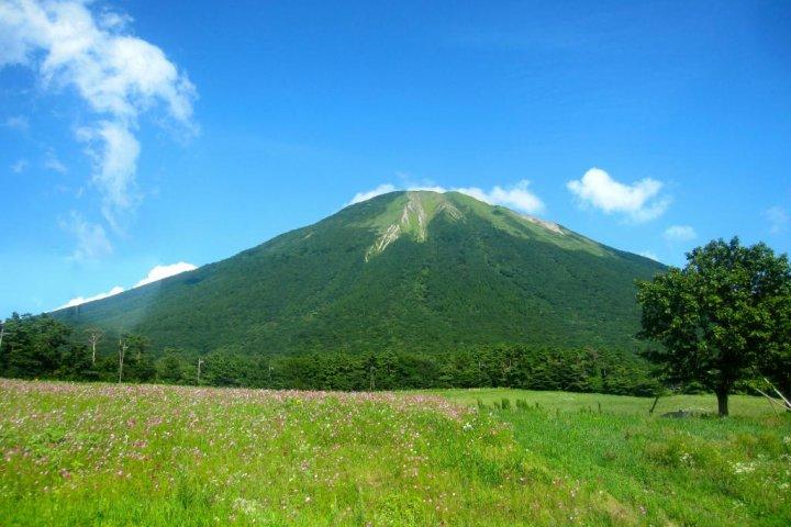 Climbing Mt. Daisen