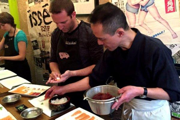 Cours de Sushi avec Wasab