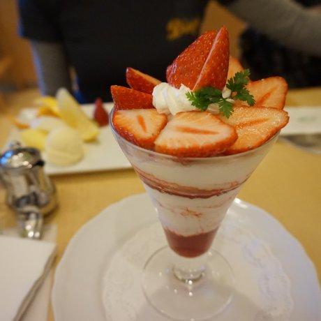 Kyobashi Sembikiya Fruit Parfait