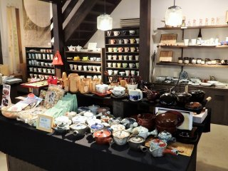 The shop has a variety of lovely items to choose from.