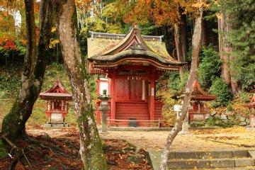 <p>One of the Hiei Shrine Altars</p>