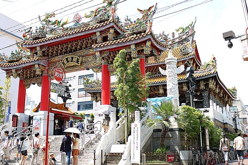 The Kanteibyo Temple in the Heart of the Chinatown