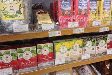 <p>Bonraspail&#39;s wide tea selection.</p>