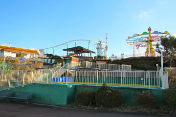 <p>A deserted amusement park is a unique and eerie place to be</p>
