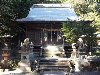 O edifício principal do santuário