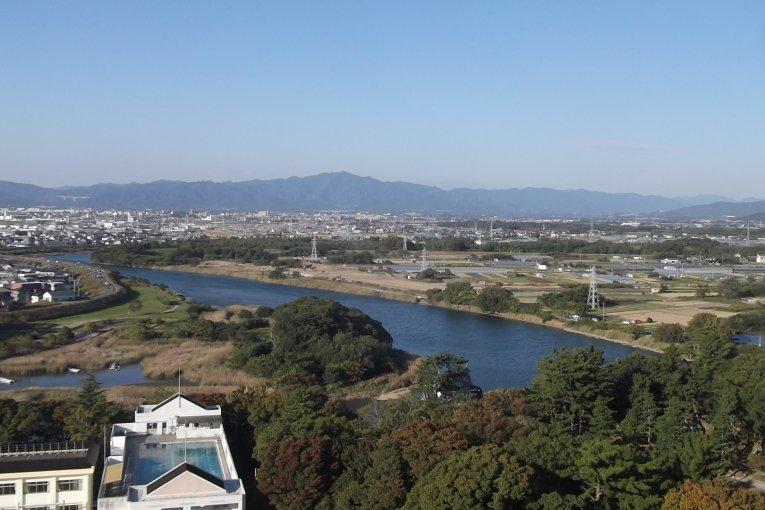 Đài quan sát ở tòa thị chính Toyohashi