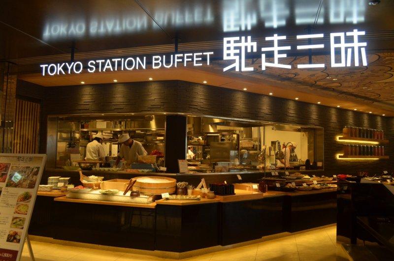 <p>Tokyo Buffet Station ชั้น 12 บนห้าง Daimaru สถานีโตเกียว ที่ยกขบวนความอร่อยที่ทานได้ไม่ยั้งภายในระยะเวลา 90 นาที&nbsp;</p>