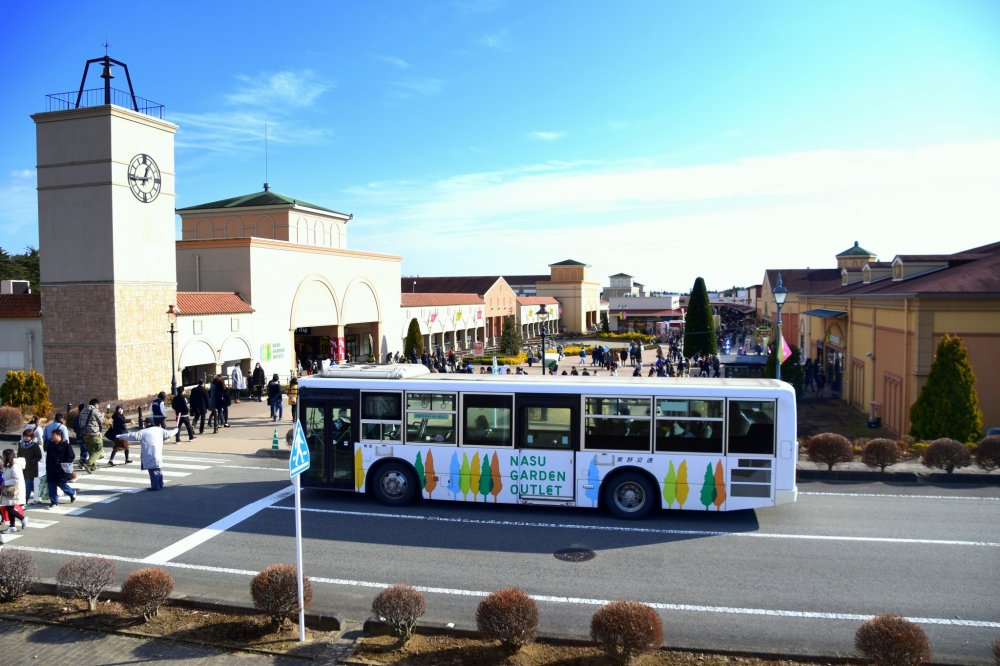 A Free Shuttle Bus Is Provided Between JR Nasushiobara Station And Nasu Garden  Outlet ...