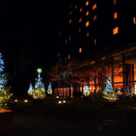 Natal di Hotel Prince New Takanawa