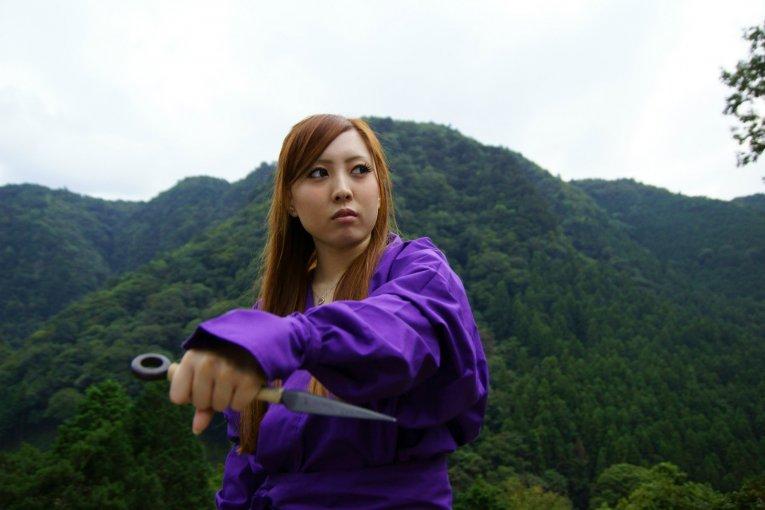 Formation Ninja aux Chutes d'Akame