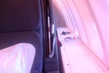 <p>Be cocooned in the upper deck cabin of the Qantas Boeing 747 from Sydney to Tokyo&nbsp;</p>