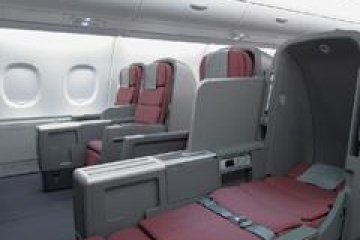 <p>A380 Standard Sky Bed has been fitted on all Boeing 747s from Sydney Australia to Tokyo Japan</p>