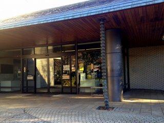 図書室の入り口