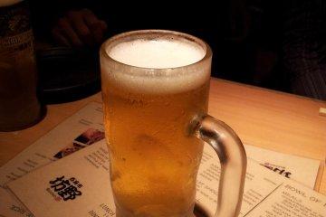 这里的生啤非常廉价!