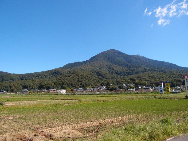 <p>Mount Tsukuba</p>