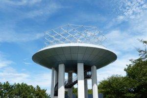 野島公園の展望台