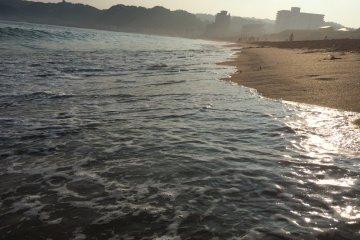 Beautiful shoreline.