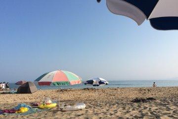 В двух часах от Токио: пляж Ондзюку