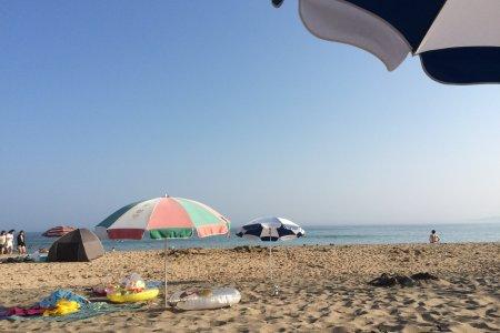 Hai giờ từ Tokyo: Bãi biển Onjuku
