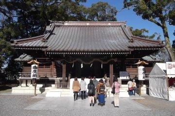 Yaizu-jinja Shrine