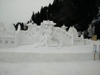 Một trong những tác phẩm điêu khắc đoạt giải thưởng