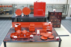 Lacquerware items for your Japanese lifestyle