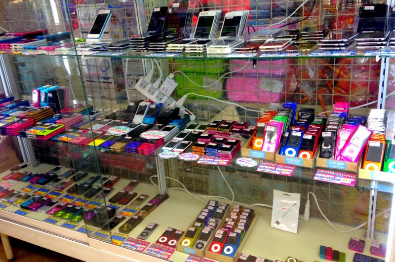 Several lines of phones on sale