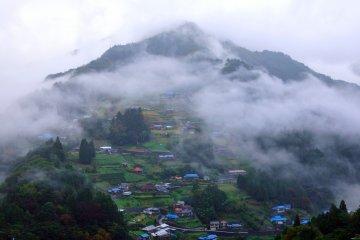 Ochiai Village in the Iya Valley