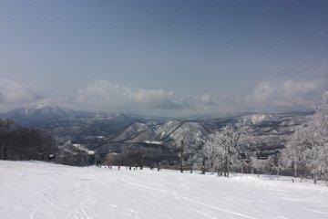 Minowa Snow Resort in Fukushima