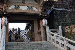 Entrée principale du temple