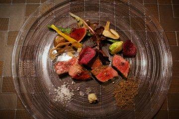 Bữa tối ở Epinard Nasu của Naqua