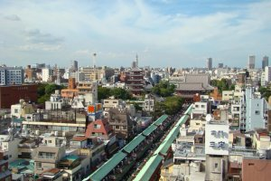 Le quartier traditionnel d'Asakusa