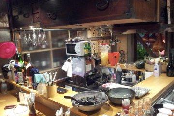 日式独特的柜台型餐桌