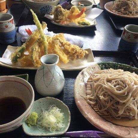 โฮมเมดโซบะใน Nihonmatsu [ปิด]