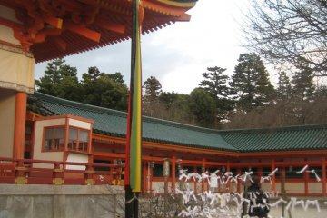 Scenes from Heian Jingu