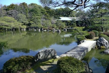 The gardens take up 33,000 square meters