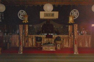 <p>Insode Enma Temple</p>