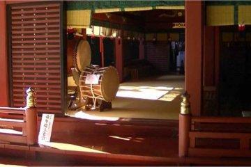 A glance inside the shrine