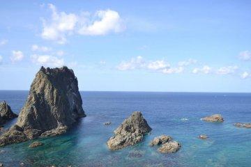 샤코탄 반도 시마무이 해안
